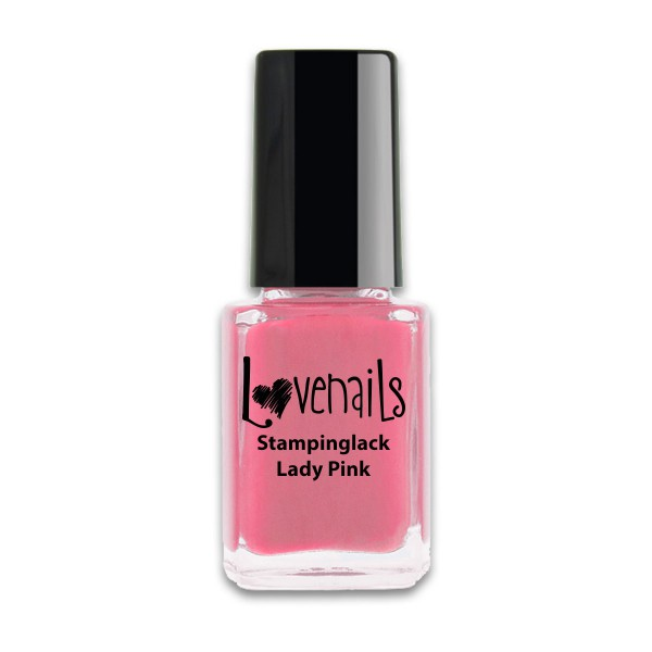 Lovenails Stamping Lack Lady Pink 12ml