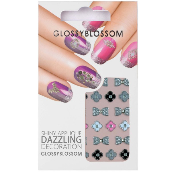 Glossy Blossom Nail Sticker 11