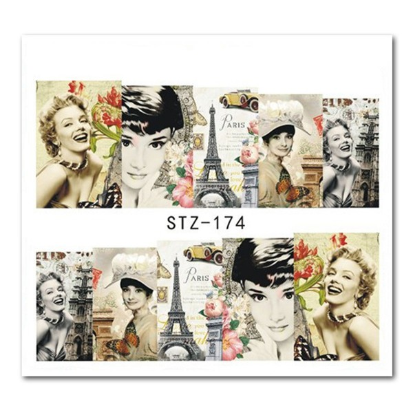 Nailart Tattoo Marilyn Monroe 2