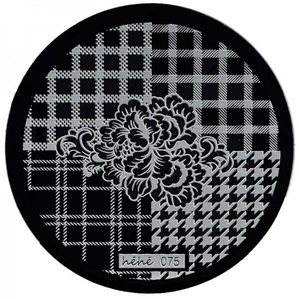 Stamping Schablone HeHe-075
