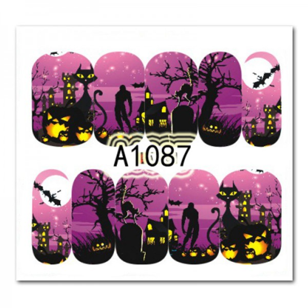 Nailart Tattoo Halloween 2