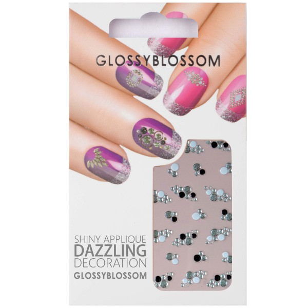 Glossy Blossom Nail Sticker 6