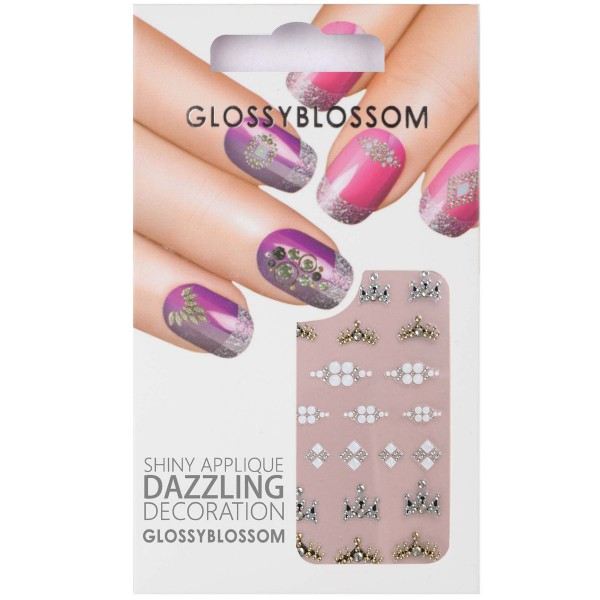 Glossy Blossom Nail Sticker 22
