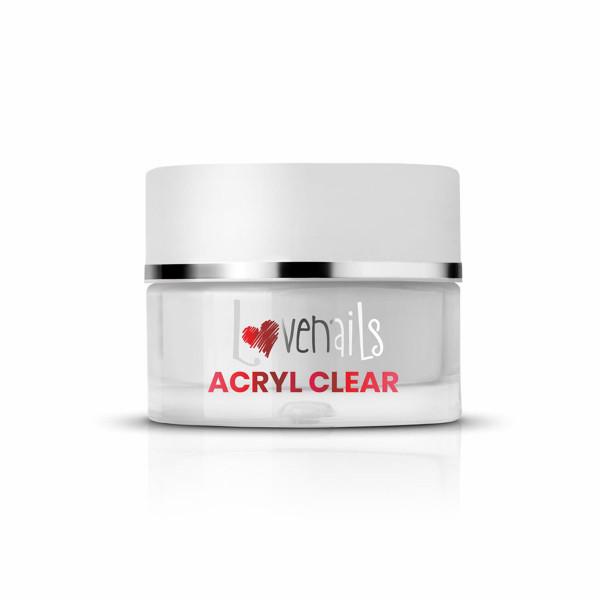 Acryl Puder Clear 36g für Nagelmodellage