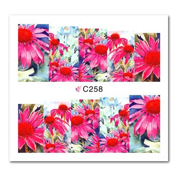 Nailart Tattoo Blume Nr. 37