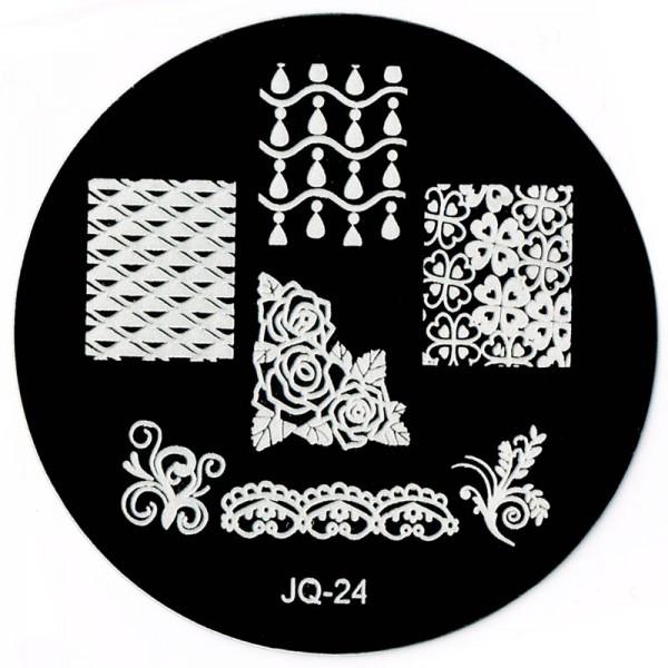 Stamping Schablone JQ-24