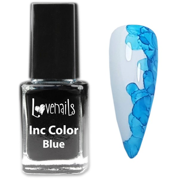 Inc Nailart Color Blau 12ml