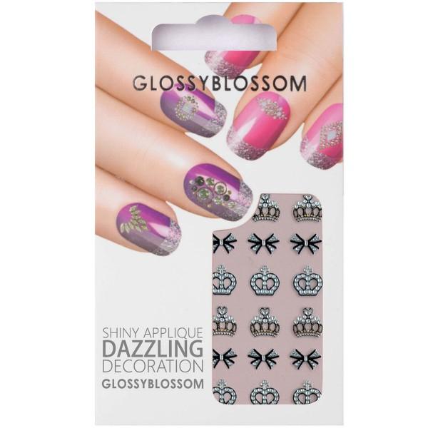 Glossy Blossom Nail Sticker 2 Krone