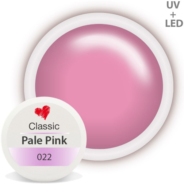 Classic Farbgel 022 Pale Pink 5ml