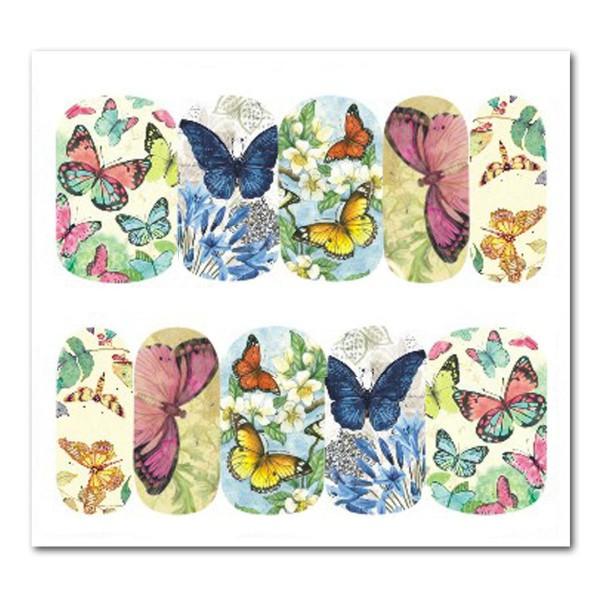 Nailart Tattoo Schmetterling Nr. 14