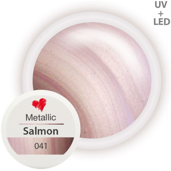 041-Metallic-Farbgel-Salmon