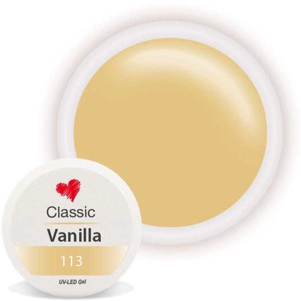 Classic Farbgel Vanilla Gelb nailart gel
