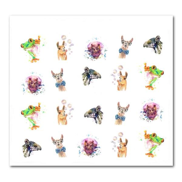 Nailart Tattoo Tiere 4