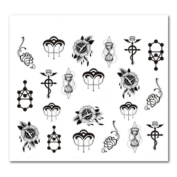 Nailart Tattoo Mystery 4
