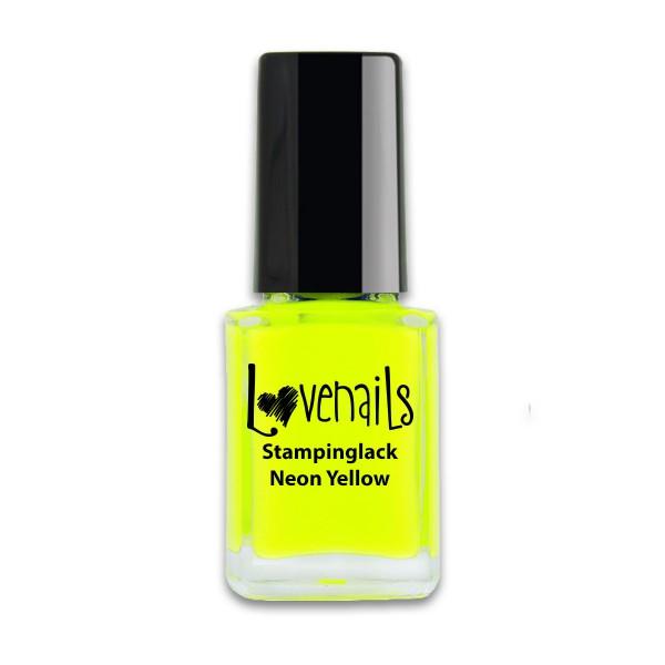Lovenails Stamping Lack Neon Yellow12ml