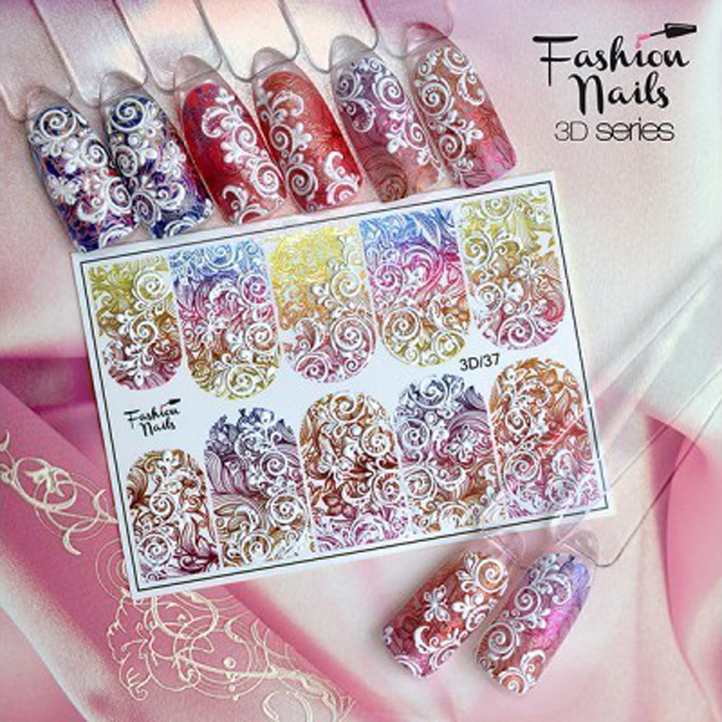 3D Nail Slider 37 | Lovenails-Shop