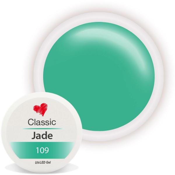 Classic Farbgel Jade Grün Nailart UV Gel