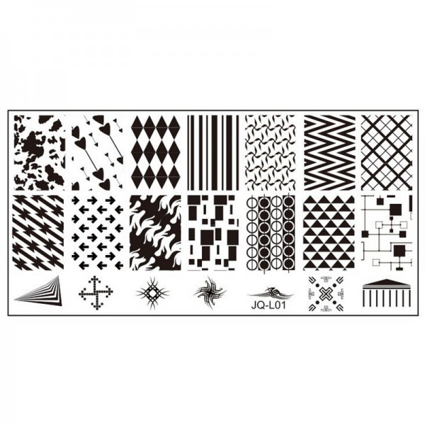 Stamping Schablone JQ-L01