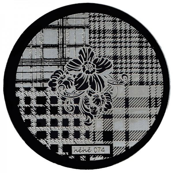 Stamping Schablone HeHe-074