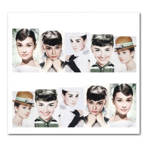 Nailart Tattoo Audrey Hepburn