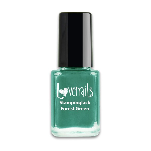 Lovenails Stamping Lack Forest Green 12ml