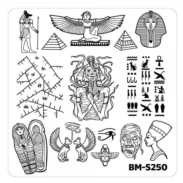 Stamping Schablone BM-S250