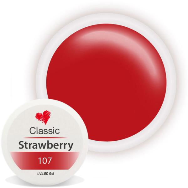 Classic Farbgel Strawberry Rot Nailart UV Gel