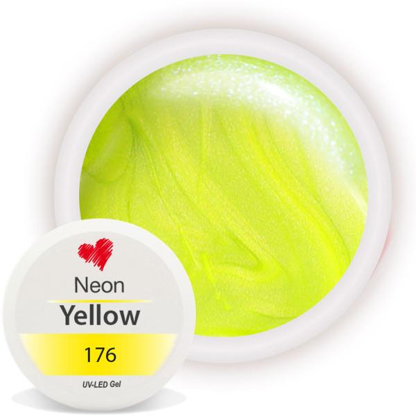 Neon Farbgel Gelb für auffällige Nägel