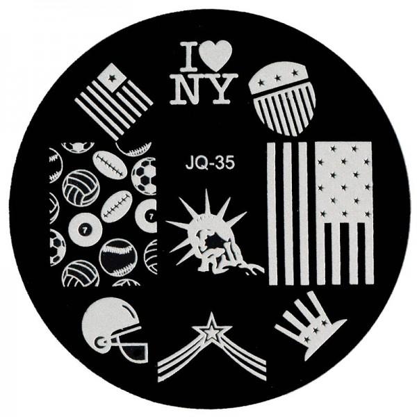 Stamping Schablone JQ-35