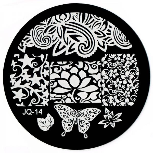 Stamping Schablone JQ-14