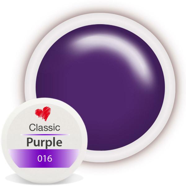 Classic Farbgel 016 Purple 5ml