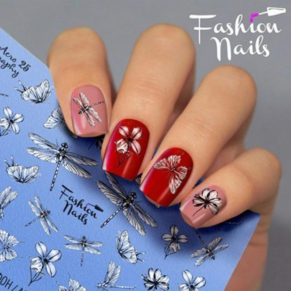 Airbrush Nail Slider 25