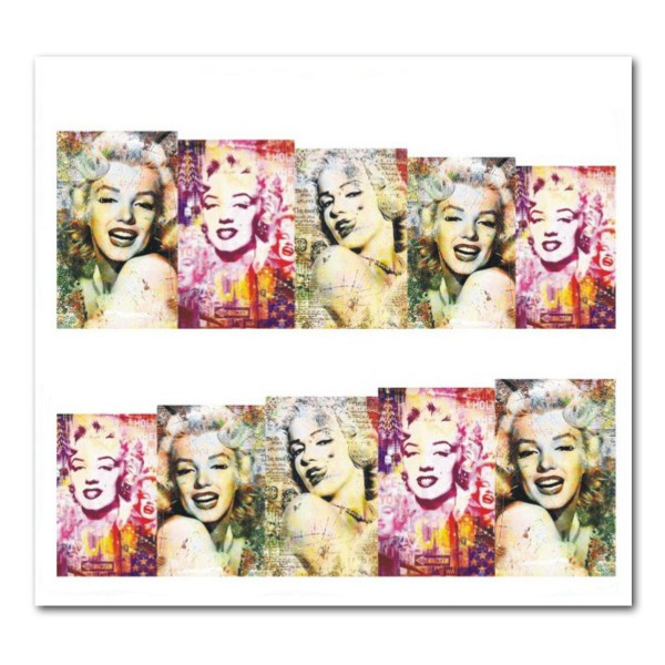 Nailart Tattoo Marilyn Monroe 13