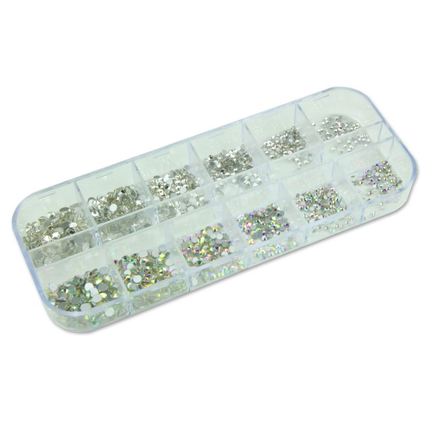 Strass Box Clear