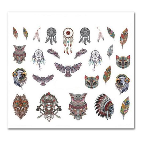 Nailart Tattoo Traumfänger 19