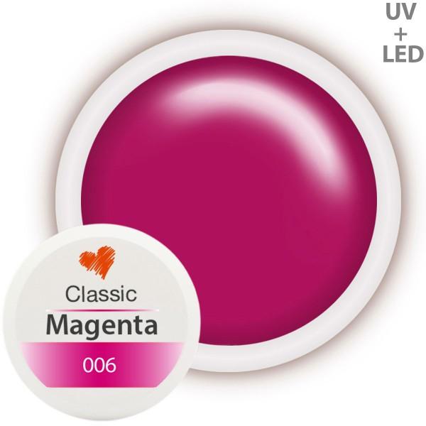 Classic Farbgel 006 Magenta 5ml