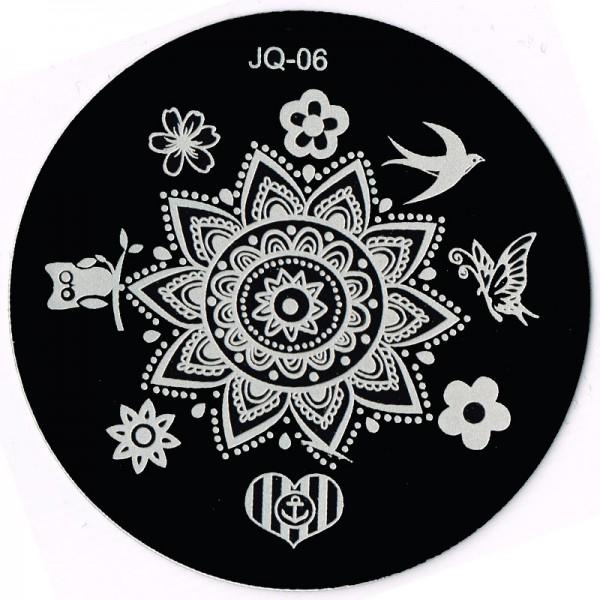 Stamping Schablone JQ-06
