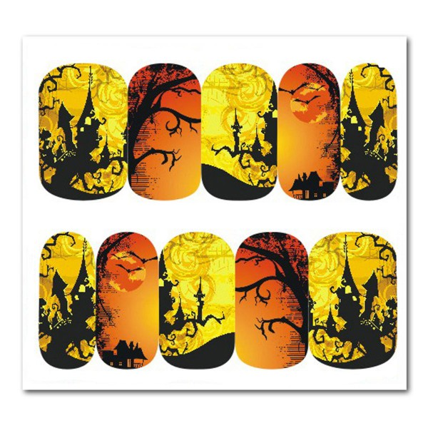 Nailart Tattoo Halloween 6