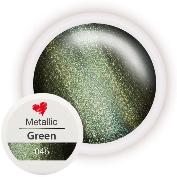 046-Metallic-Farbgel-Green