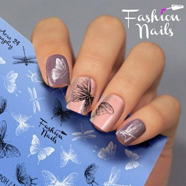 Airbrush Nail Slider 24