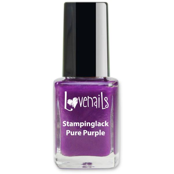 Stamping Lack Pure Purple 12ml