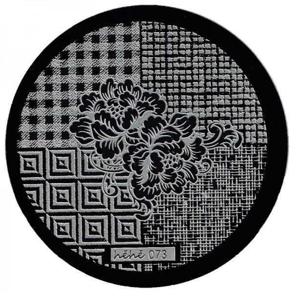 Stamping Schablone HeHe-073