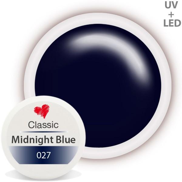 Classic Farbgel 027 Midnight Blue 5ml