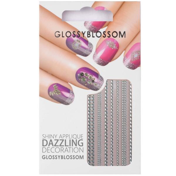 Glossy Blossom Nail Sticker 10