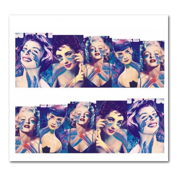 Nailart Tattoo Marilyn Monroe 8