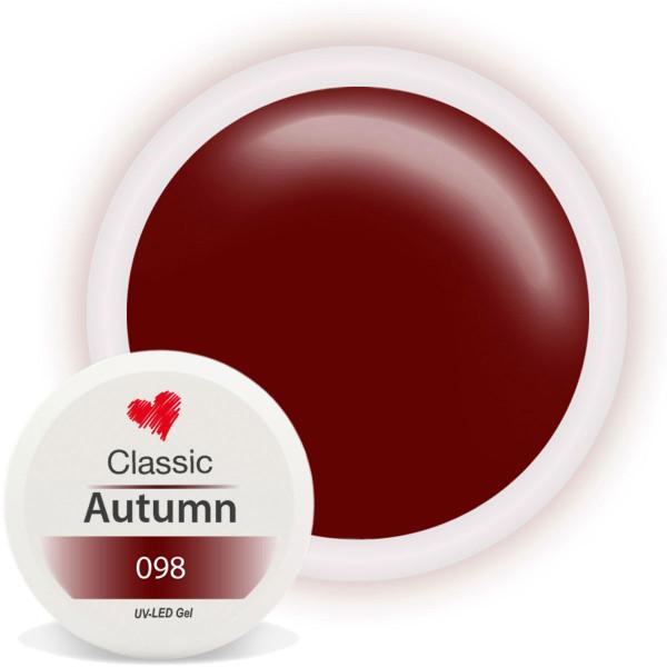 Classic Farbgel Autumn Herbst Braun Nailart