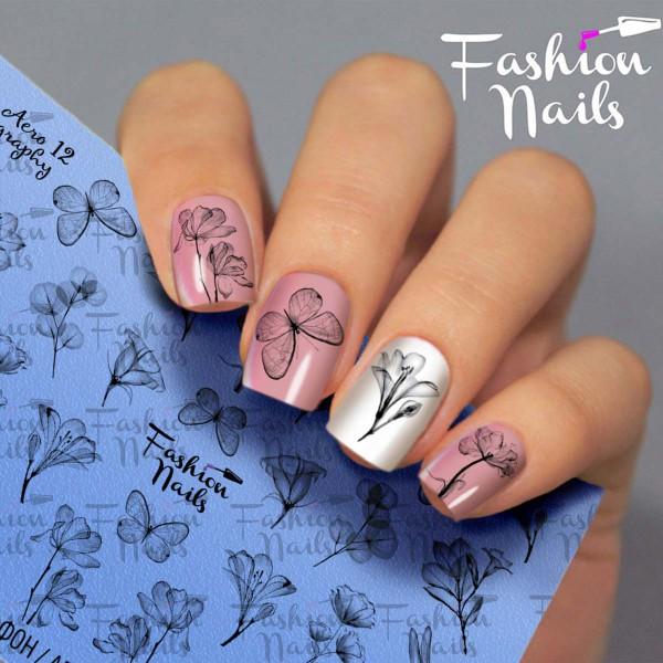 Airbrush Nail Slider 12