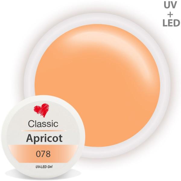 Classic Farbgel 078 Apricot 5ml