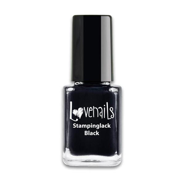 Lovenails Stamping Lack Black 12ml