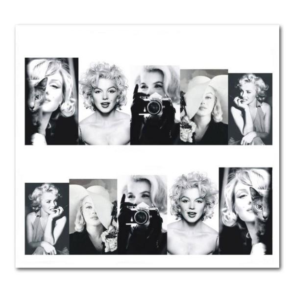 Nailart Tattoo Marilyn Monroe 11